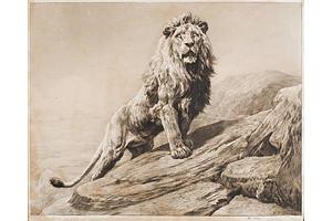 Herbert DICKSEE (British 1862-1942) 'The King', Etching