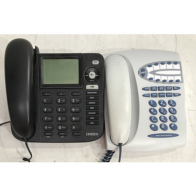 Uniden & Thomson Home Phones - Lot of Two - **NO BIDS**