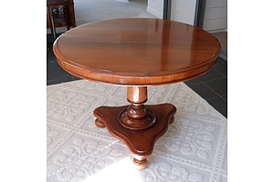 Antique Cedar Breakfast Table
