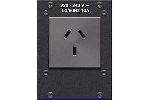 Crestron (FTA-PWR-251) FlipTop AC Power Outlet Module *Brand New