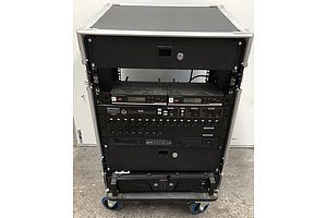 GoCase Media AV Chassis w/ Assorted Appliances