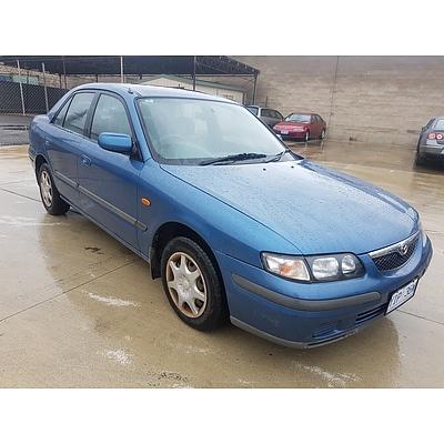 9/1998 Mazda 626 Classic  4d Sedan Blue 2.0L