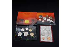 1992 RAM Olympic Games Uncirculated Coin Collection, 1989 Uncirculated Coins Collection and 1983 Red Album