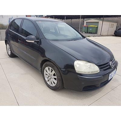 3/2005 Volkswagen Golf 2.0 TDI Comfortline 1K 5d Hatchback  2.0L