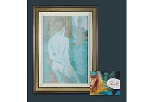 Rolf HARRIS (b.1930) 'Mirrored Image,' 2004, Giclee on Canvas on Board 148/295