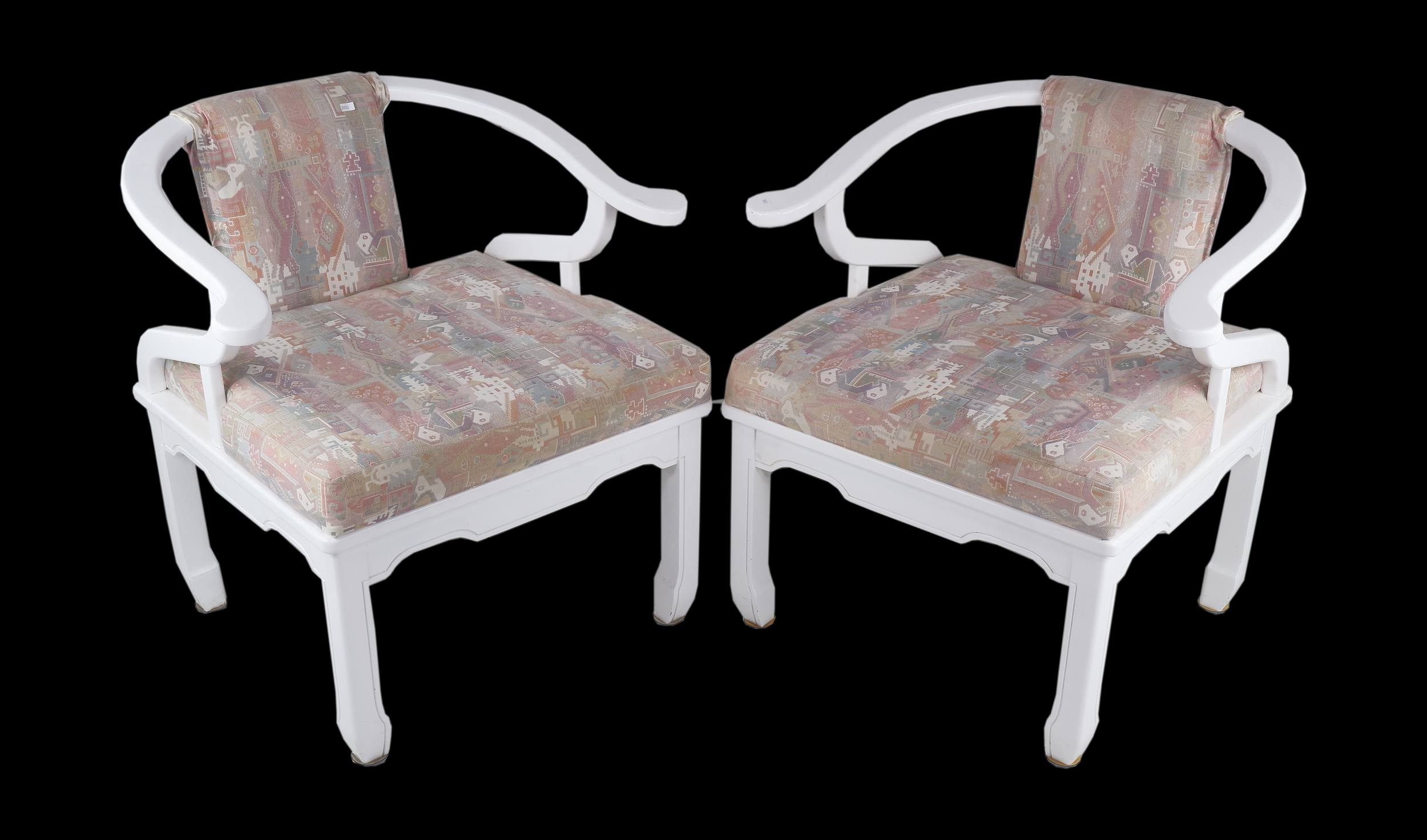 'Pair of Van Treight Dynasty Party Chairs Circa 1970s'