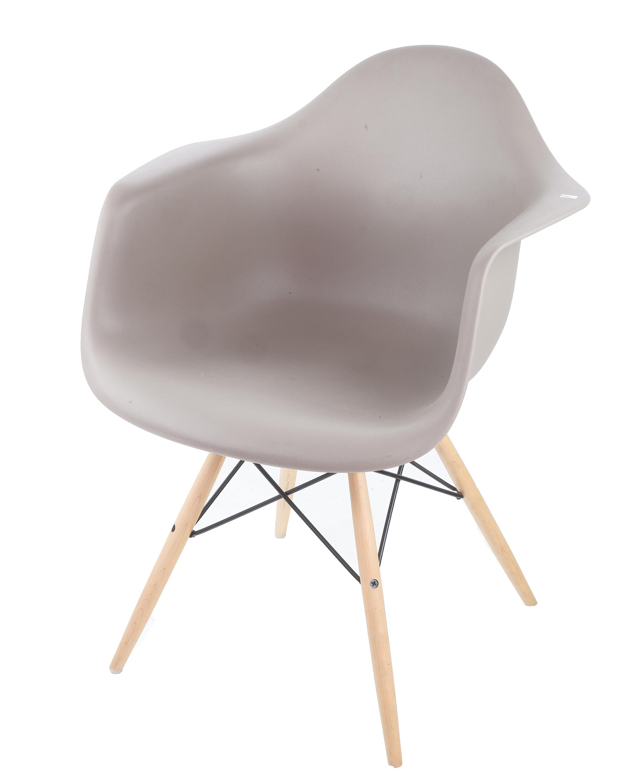'DAW Moulded Plastic Armchair by Vitra, Designed by Charles and Ray Eames'