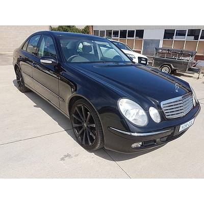 7/2003 Mercedes-Benz E240 Elegance 211 4d Sedan Black 2.6L