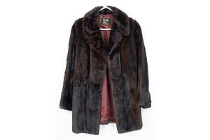 Vintage Berkely Furs Mink Ladies Coat