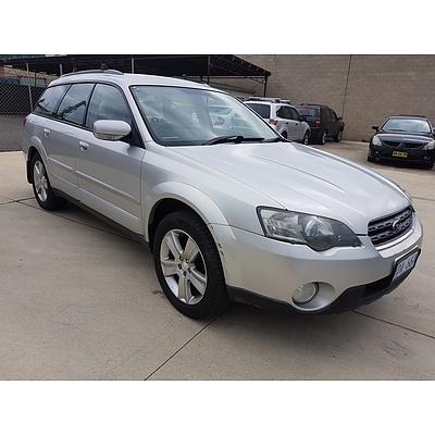11/2003 Subaru Outback 3.0R MY04 4d Wagon  3.0L