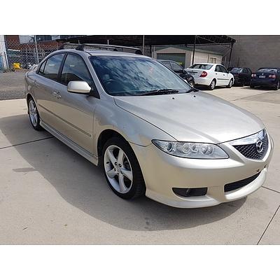 9/2002 Mazda Mazda6 Luxury Sports GG 5d Hatchback Gold 2.3L