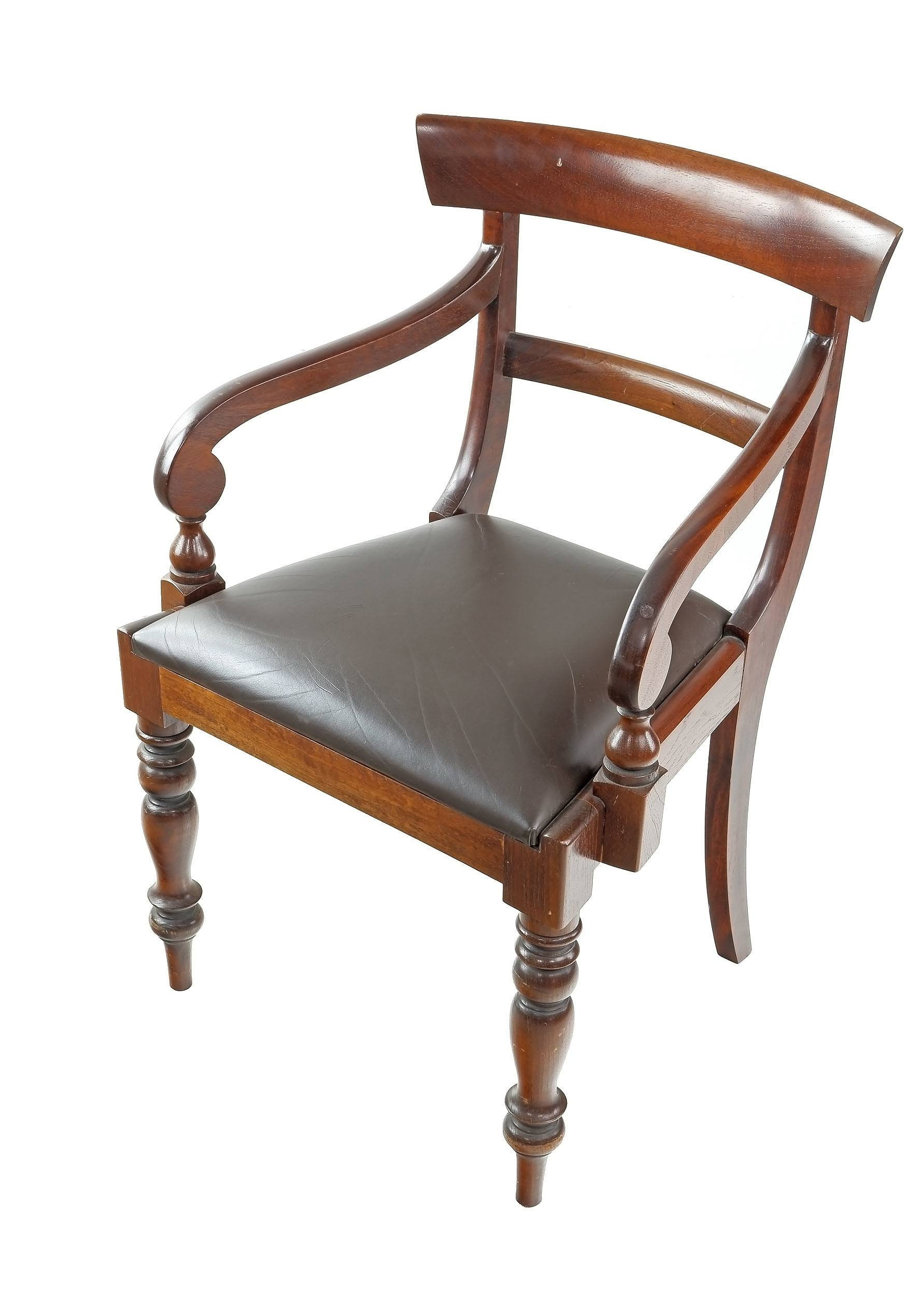 'Antique Australian Cedar Carver Chair'