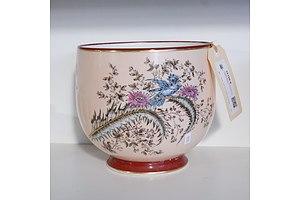 Vintage hand Decorated Porcelain Planter
