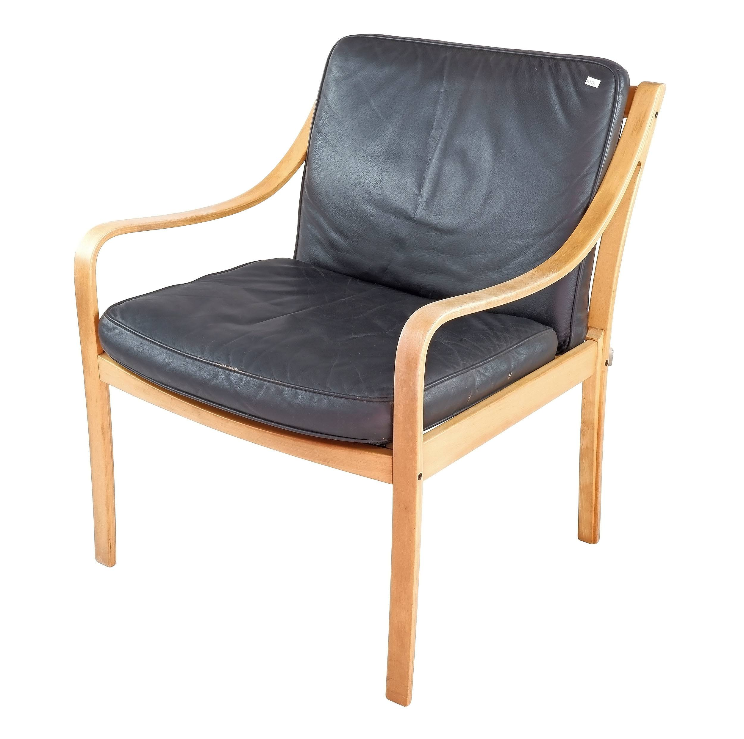 'Fredrik Kayser Model 109 Armchair for Vatne Lenestolfabrikk'