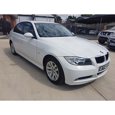 1/2006 Bmw 320i Executive E90 4d Sedan White 2.0L