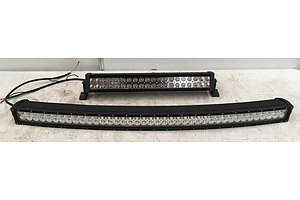 21 Inch And 41 Inch Curved Lightbars