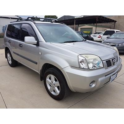 9/2006 Nissan X-trail ST-S X-treme (4x4) T30 MY06 4d Wagon Silver 2.5L
