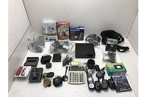 Lot Of Assorted Household Electricals