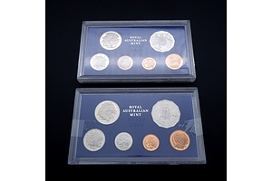 Two 1980 Royal Australia Mint Proof Coin Sets