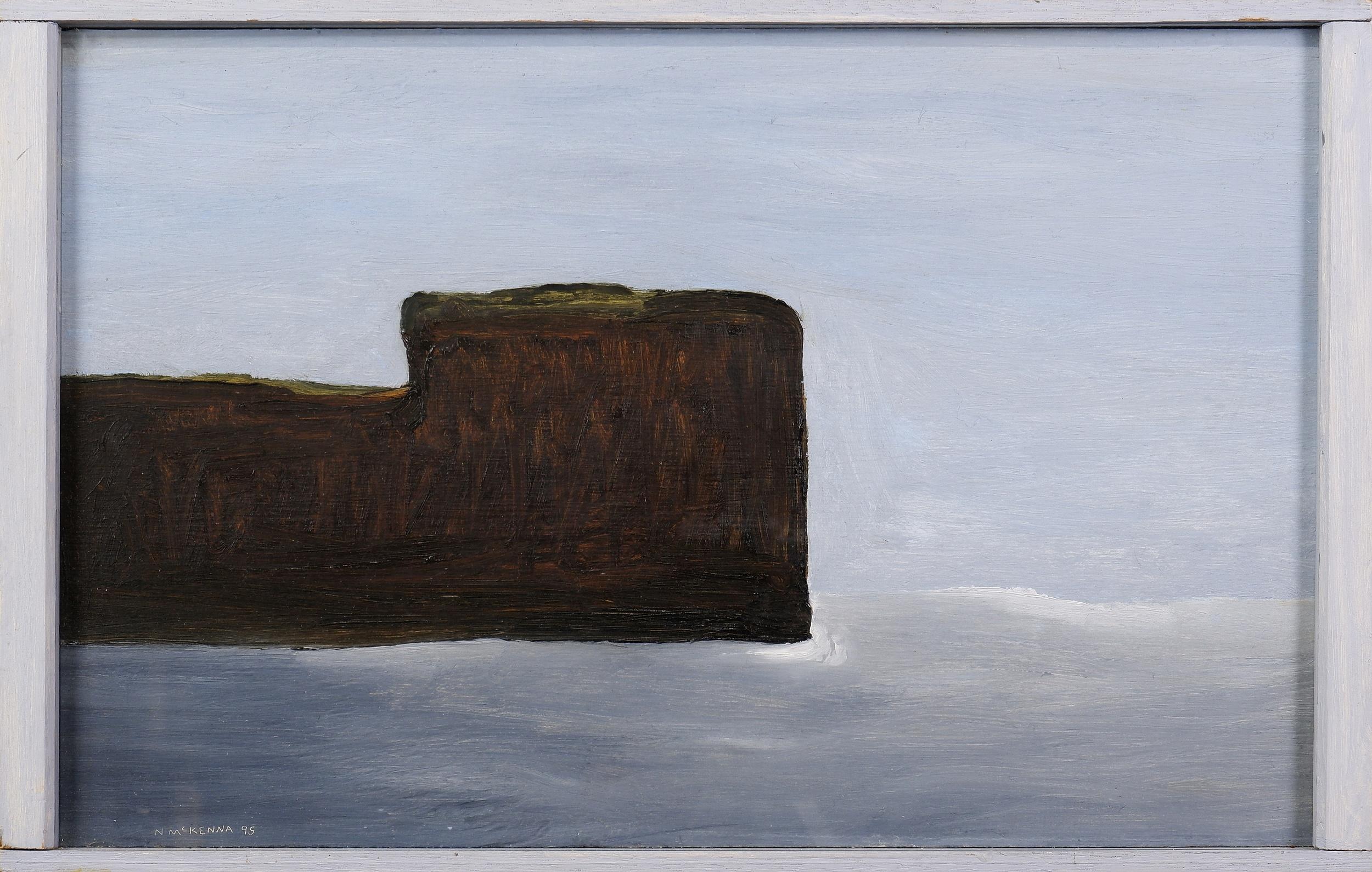 'Noel McKenna (born 1956), Bundeena, South Coast 1995, Oil on Board'
