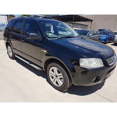 9/2005 Ford Territory GHIA (4x4) SX 4d Wagon Black 4.0L