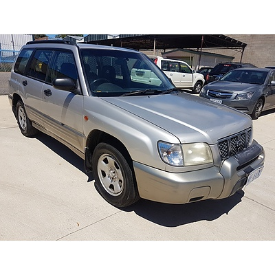 6/2000 Subaru Forester Limited MY00 4d Wagon Silver 2.0L