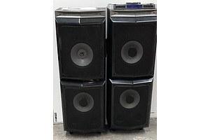 Laser SPK-F600 DJ Party Speaker System
