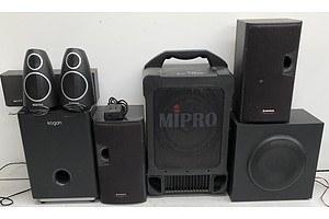 Bulk Lot of Assorted AV Equipment