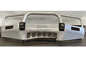 Nissan Patrol Front Bullbar - Impact Damaged