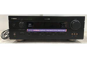 Yamaha RX-V440 Natural Sound AV Receiver With Cinema DSP