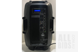 SWAMP PBO-12BM 12Inch Powered PA Speaker - Bi-amped - 150W And 30W
