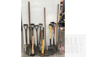 Assorted Garden Tools - Lot Of Fifteen
