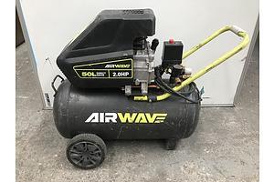 Ryobi AirWave 2HP 50L Air Compressor