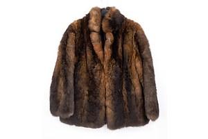 Vintage Mooneys of New Zealand Possum Fur Coat