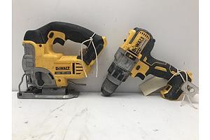 Dewalt Drill Driver and Jigsaw