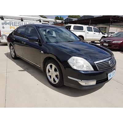 5/2006 Nissan Maxima Ti J31 MY06 4d Sedan Black 3.5L