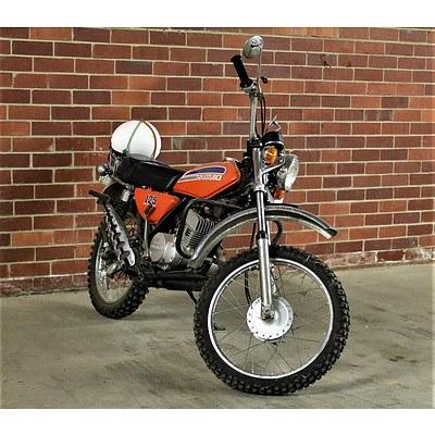 01/1974 Suzuki TC125 123cc Motor Bike