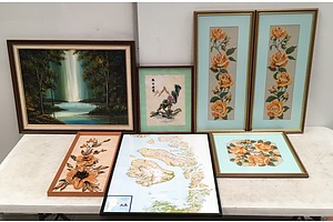 Collection Of Seven Ready To Hang Pictures