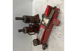 Collection of Trolley And Joplin Hydraulic Bottle Jacks - Lot Of Three