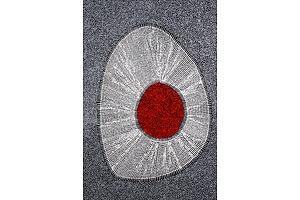 Felicity Robertson Nampitjinpa (born 1965), Puyurru, Synthetic Polymer Paint on Canvas