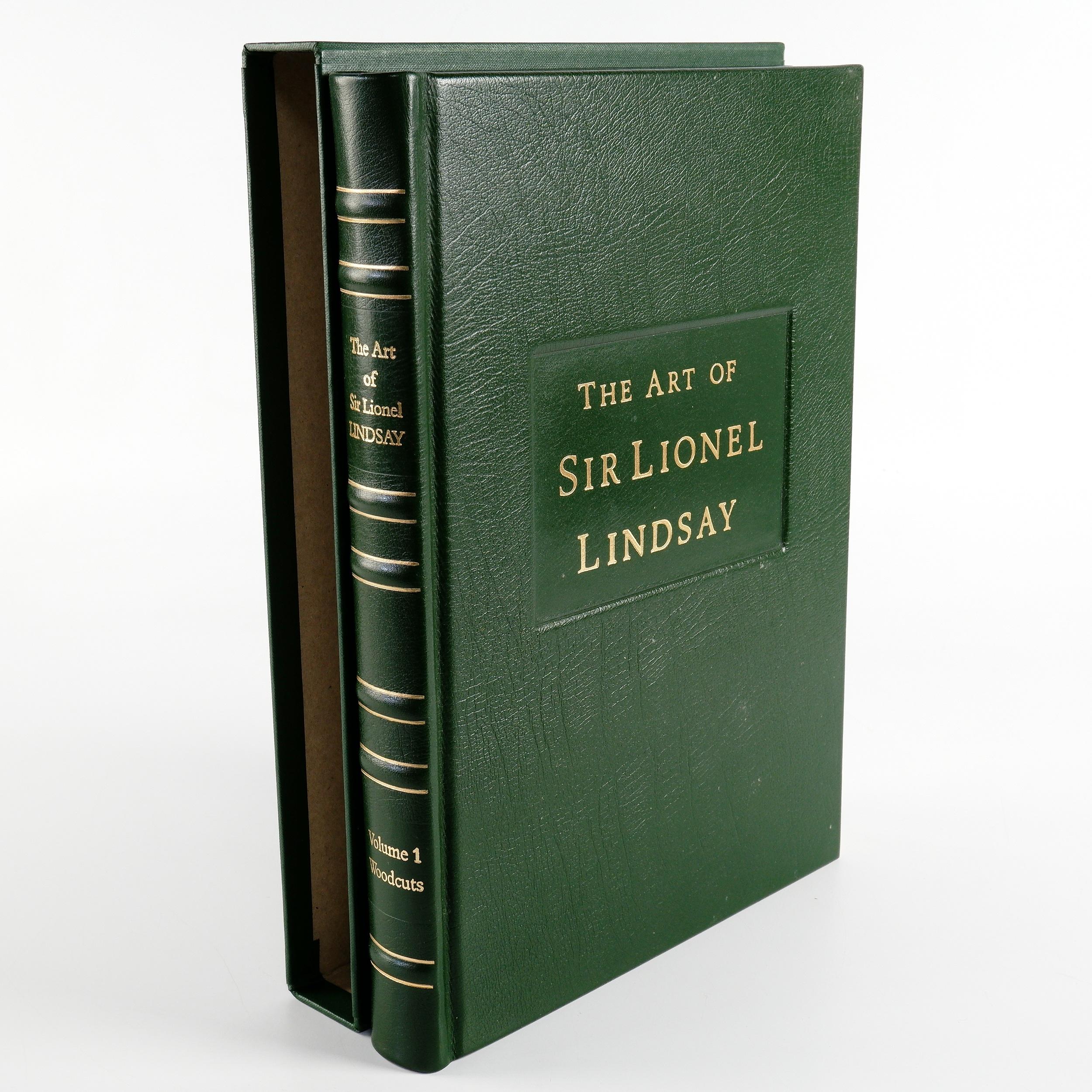 'Mendelssohn, Joanna , The Art of Sir Lionel Lindsay, Volume I Woodcuts, Edition 260/300 '