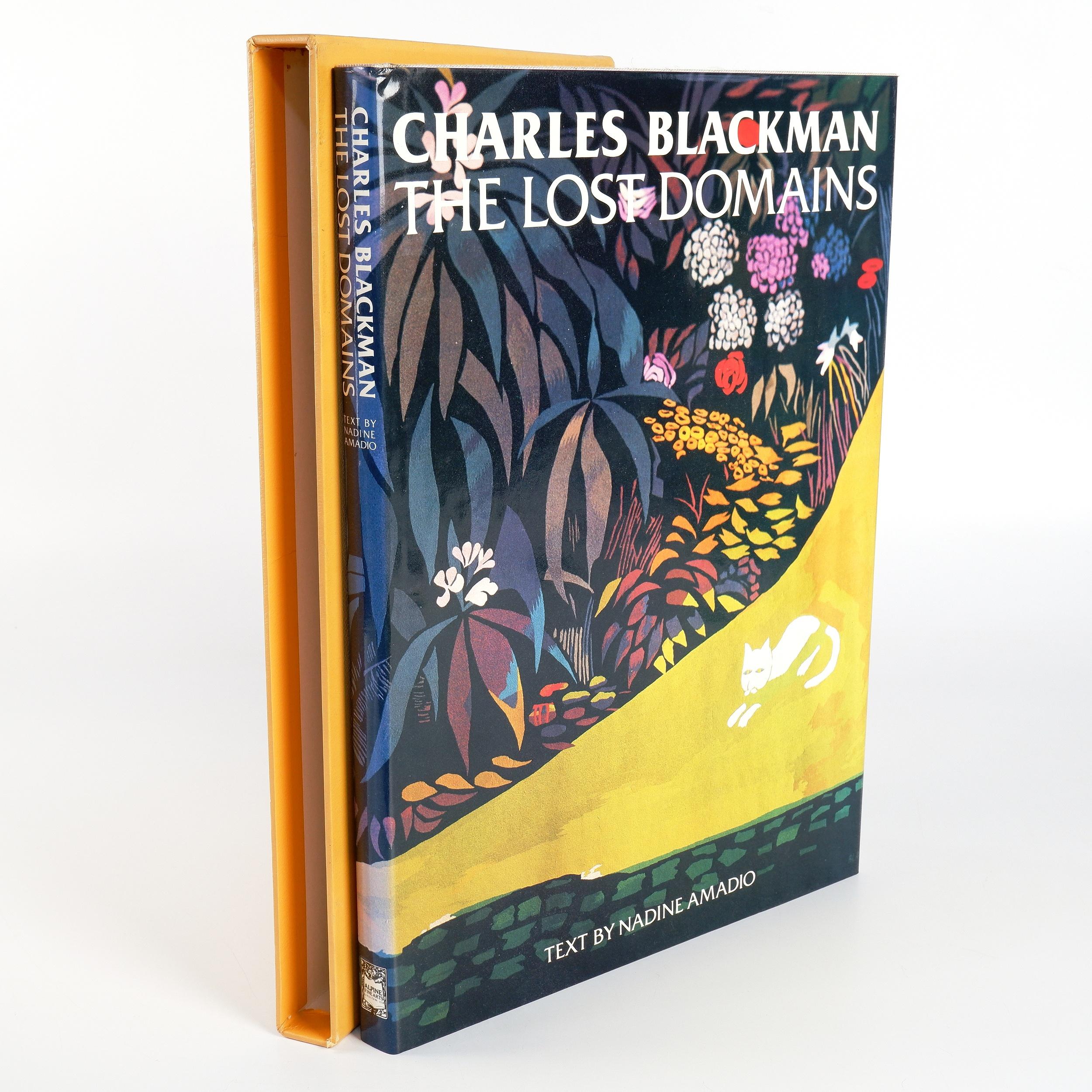 'Amadio, Nadine, Charles Blackman, The Lost Domains, Alpine Fine Arts 1982.'