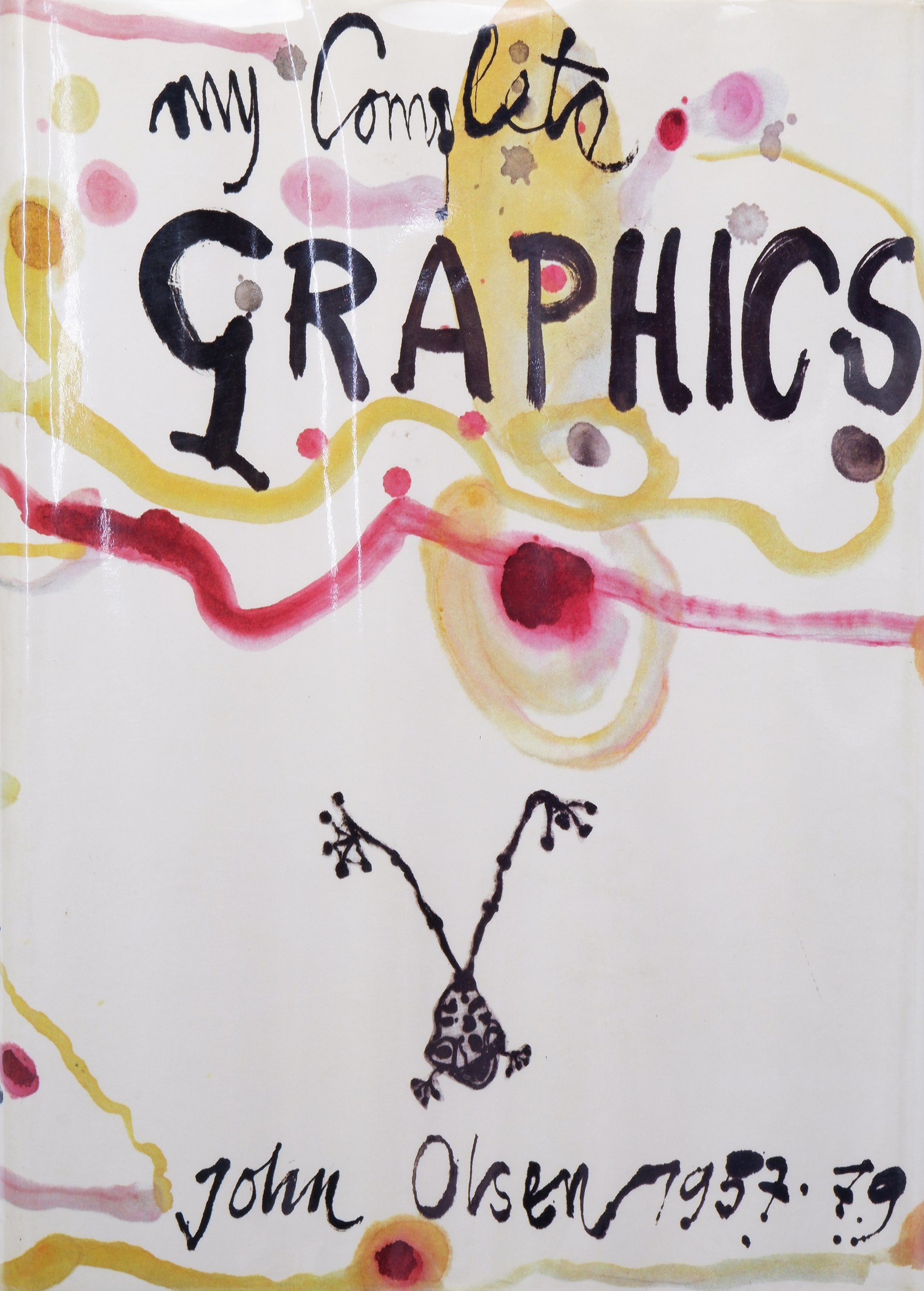 'John Olsen, My Complete Graphics 1957-1979, Introduction by Lou Klepac, Australian Galleries, Gryphon Books 1980'
