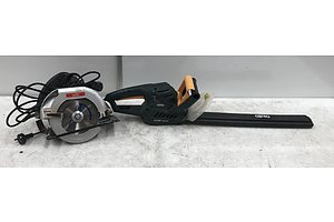Ozito Circular Saw and Hedge Trimmer