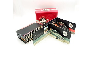 2016 Holden Heritage Collection Set of Eleven 50 Coins with Heritage Coin and Tin