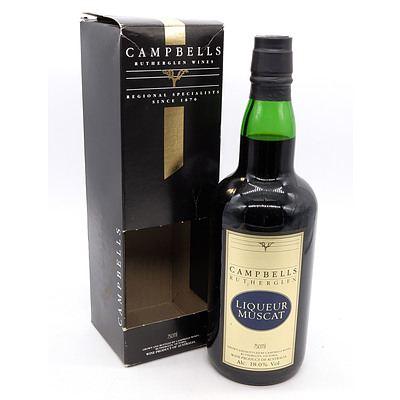 Campbells of Rutherglen Liqueur Muscat 750ml in Presentation Box