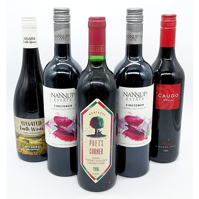 Five Mixed Red Wines