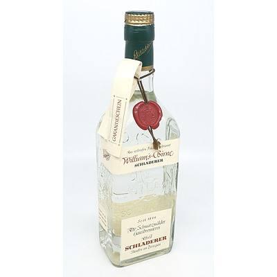 Schladerer Williams Birne Pear Brandy - 700 ml