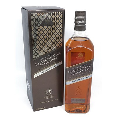 Johnnie Walker Explorers Club Collection Blended Scotch Whiskey 'The Spice Road' - 1 L in Presentation Box