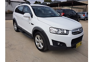 12/2011 Holden Captiva 7 CX (4x4) CG SERIES II 4d Wagon White 2.2L